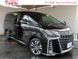 トヨタ アルファード 2.5SCパケ BigX プリクラ FDモニター 黒革 SR