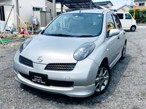 日産 マーチ 12SR ニスモマフラー5速M/T車LEDヘッドライト