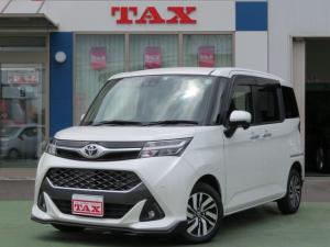 トヨタ タンク カスタムG 純正ナビTV・Bluetooth・バックカメラ・ETC・両側電動スライドドア・クルーズコントロール・トヨタセーフティーセンス・LEDライト・禁煙車