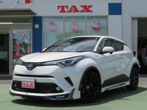トヨタ C-HR G モード ネロ 11インチナビTV・Bluetooth・バックモニター・モデリスタフルエアロ・ワンオーナー・禁煙車