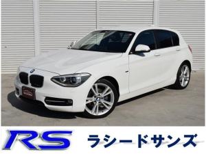 BMW 1シリーズ 120i スポーツ 純正18AW フロントパワーシート スマートキー バックカメラ