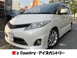 トヨタ エスティマ 2.4アエラス GエディションHDDナビフリップダウン