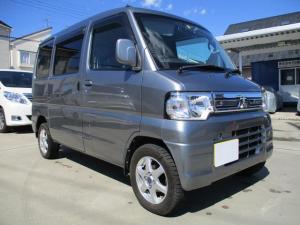 三菱 ミニキャブバン ブラボー ターボ車4WD・禁煙1オーナーナビ地デジ使用地関東