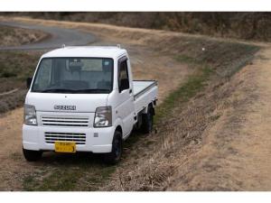 スズキ キャリイトラック  4WD 5MT エアコン パワステ