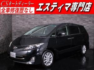 トヨタ エスティマ 2.4アエラス Gエディション HDDナビ 両側自ドア 禁煙