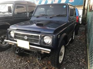 スズキ ジムニー ランドベンチャー 4WD AC オーディオ付 AT 青