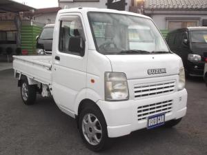 スズキ キャリイトラック KCエアコンパワステ 4WD 高低二段切替式 F5
