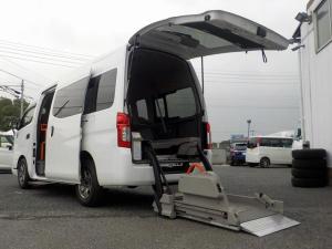 日産 NV350キャラバンバン 福祉車両 車いす2基 リアリフト仕様 走行2.4万km