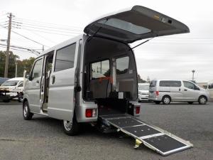 スズキ エブリイ 福祉車両 スロープ ウィンチ電動固定 保証継承渡し1オーナー