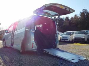 トヨタ ヴォクシー 福祉車両 スロープタイプI ウィンチ 両側パワスラ ナビ