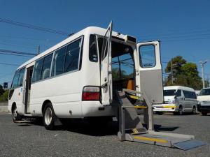 日野 リエッセII 福祉リフトバス 車いす2脚 自動ドア オートステップ
