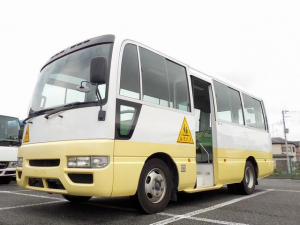 日産 シビリアンバス 幼児バス 大人3幼児39 非常扉 新品タイヤ6本