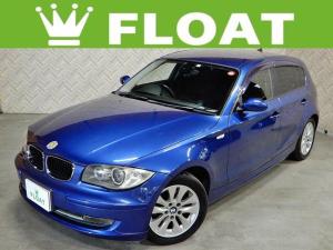 BMW 1シリーズ 116i StradaインダッシュHDDナビ 地デジ CD DVD 音楽録音 バックカメラ ETC HID F/Rフォグ Keyレス プッシュスタート 純正AW ドアバイザー MTモード付AT 革巻ステア