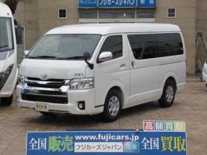 トヨタ ハイエースワゴン FOCS DS-Fスタイル 新車未登録 FFヒーター 冷蔵庫