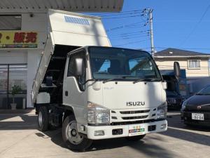 いすゞ エルフトラック 全低床3t強化ダンプ ピン ストッパー付コボレーン ETC