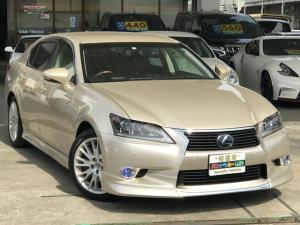 レクサス GS GS450h バージョンL シートヒーター/ベンチレーター/ステアリングヒーター/パワーバックドア/メモリー付きパワーシート/電動シェード/ビルトインETC/マークビンソン/車検整備付き