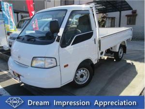 日産 バネットトラック  グレードGL 1.8L MT ワンオーナー パワーウィンドウ シングルタイヤ 最大積載量850キロ エアバック パワステ 走行距離2,840キロ マニュアル オーディオ付き ガソリン 2WD