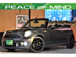 MINI クーパーS コンバーチブル 2020年自動車税込み 6速MT ターボ フォグHID US仕様 ETC プッシュスタート純正17AW9分山後期型 走行41000キロ 半革Sオートエアコン コーナーセンサー
