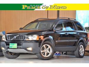 ボルボ XC90 ブラックパールエディション 車検令和5年4月26日 キーレス2 ETC タイベル57000キロ時交換済み ターボ 特別仕様車 黒本革電動シート オートエアコン 4WD