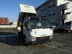いすゞ エルフトラック 強化フルフラットローダンプ 2トンダンプ
