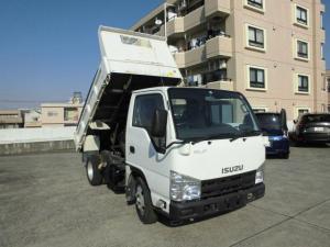 いすゞ エルフトラック 強化フルフラットローダンプ 3トン4ナンバー仕様