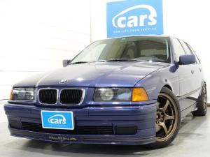 BMWアルピナ B3 3.2ツーリング カロッツェリアHDDナビ・フルセグ 黒本革シート サンルーフ A/M/S車高調 シートヒーター HID 記録簿