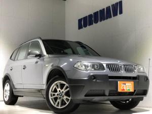 BMW X3 2.5i 4WD 関東仕入れ サンルーフ革シート横滑り防止