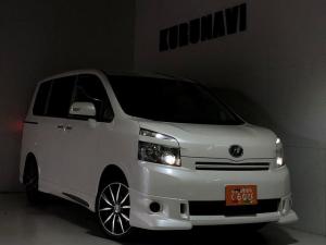 トヨタ ヴォクシー X Lエディション 関東仕入 社外17AW ナビTVフリップ