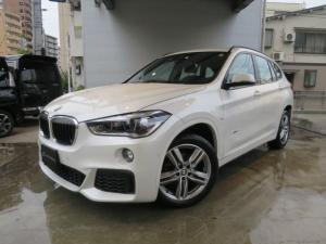 BMW X1 sDrive 18i Mスポーツ コンフォートパッケージ/純正ナビ/バックカメラ/ドライビングアシスト/ミラー型ETC/パワーテールゲート/ワンオーナー