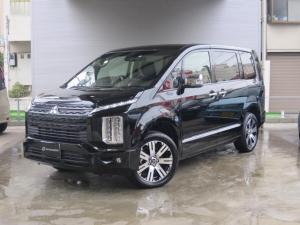 三菱 デリカD:5 P 4WD/7人乗り/ナビ取付PKG/オリジナルブラックパック/全方位カメラ/後方検知システム/電動リアゲート/電動サイドステップ