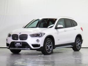 BMW X1 sDrive 18i xライン 黒革 ヒーター付電動Fシート 純正ドラレコ前後 地デジ CD コンフォートPKG HDDナビ リアカメラ 前後センサー ACC ドライビングアシスト 駐車アシスト HUD 18AW 認定中古車