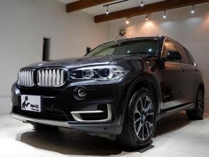 BMW X5 xDrive 35d xライン 正規ディーラー車 実走行20330km ソフィストグレー・ブリリアントメタリック ベージュレザーシート フルタイム4WD LEDヘッドライト 純正ナビ クルコン 19インチAW パノラマルーフ Bカメ