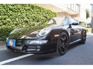 ポルシェ 911 911カレラS スポーツクロノパッケージ 911カレラS(4名) 黒レザー スポーツクロノ 19AW同色 新車保証・取説・スペアキー・記録10枚・買取直販車
