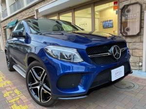 メルセデスAMG GLE GLE43 4マチッククーペ 右H 白革 デジーノ 新車保証