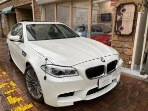 BMW M5 後期左H 1オーナー SR 黒木目&革 オートドア&トランク