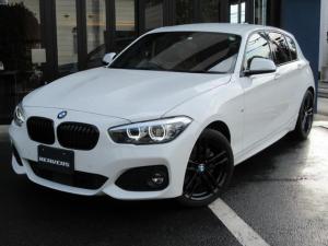 BMW 1シリーズ 118d Mスポーツ エディションシャドー 限定車/1オーナー/コニャックレザー/HDDナビ/バックカメラ/ACC/LEDヘッドライト