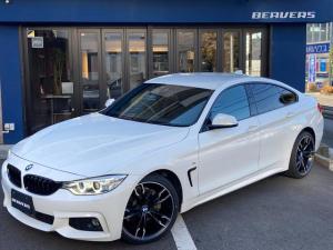 BMW 4シリーズ 420iグランクーペ Mスポーツ ワンオーナー/ACC/キセノン/18インチアルミホイール/HDDナビ/バックカメラ/パドルシフト/パワーゲート/パワーシート/コンフォートアクセス/