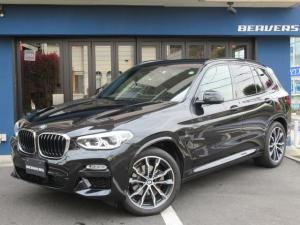 BMW X3 xDrive 20d Mスポーツ 1オーナー 20AW トップビューカメラ 前後ドライブレコーダー ACC  地デジ  Mハーフレザーシート ETC 禁煙車 パワーバックドア シートヒーター