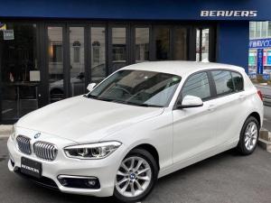 BMW 1シリーズ 118d スタイル HDDナビ バックカメラ コンフォートアクセス ミネラルホワイト LEDヘッドライト