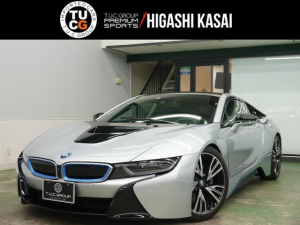 BMW i8 ベースグレード ピュアインパルス コンフォA 黒革 ナビTV harman/Kardon HUD 専用20AW 2年保証付