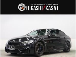 BMW M3 M3 1オーナー コンフォA 黒革 カーボンルーフ ナビTV ヘッドアップD LEDヘッドライト PDC OP19AW 2年保証