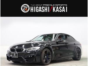 BMW M3 M3 コンフォA 赤革 カーボンルーフ ナビTV harman/kardon LEDヘッドライト OP19AW ヘッドアップD PDC 2年保証