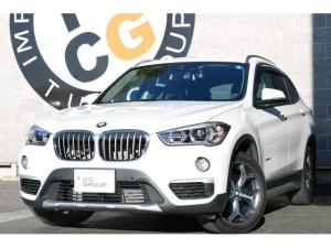 BMW X1 xDrive18dXライン&コンフォP ナビ 茶革 2年保証