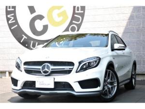 メルセデスAMG GLAクラス GLA45 4M AMGパフォエグ レーダーPKG 新車保証