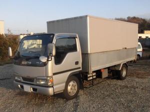 いすゞ エルフトラック 3t積 標準ロングリンボーバン 4.8Lディーゼル