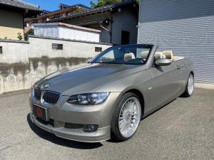 BMW 3シリーズ 335iカブリオレ ツインターボ ベージュレザーシート アルピナ19AW アルピナフロントスポイラー 純正ナビ
