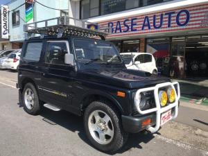 スズキ ジムニー ワイルドウインドリミテッド 4WD 5MT ルーフキャリア