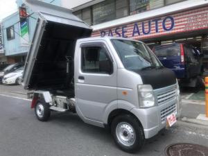 スズキ キャリイトラック ダンプ パワステ エアコン 4WD 5MT ETC