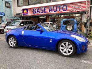 日産 フェアレディZ ロードスター ナビ AW オーディオ付 HID 2名乗り オープンカー 革パワーシート