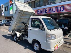 ダイハツ ハイゼットトラック ダンプ 4WD AC 5MT 修復歴無 ワンオーナー ETC